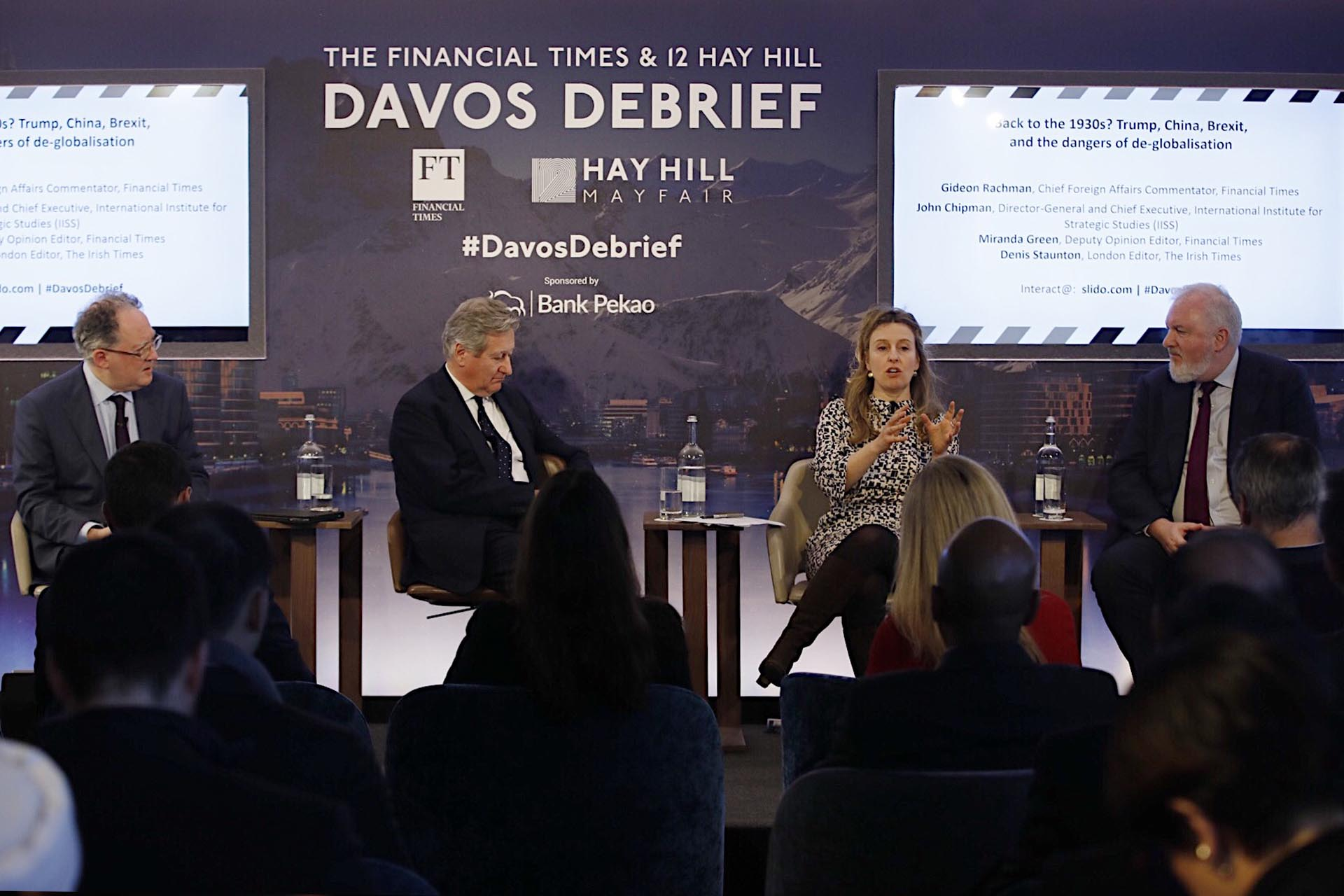 The 12 Hay Hill I Financial Times 2019 Davos Debrief – Session Two