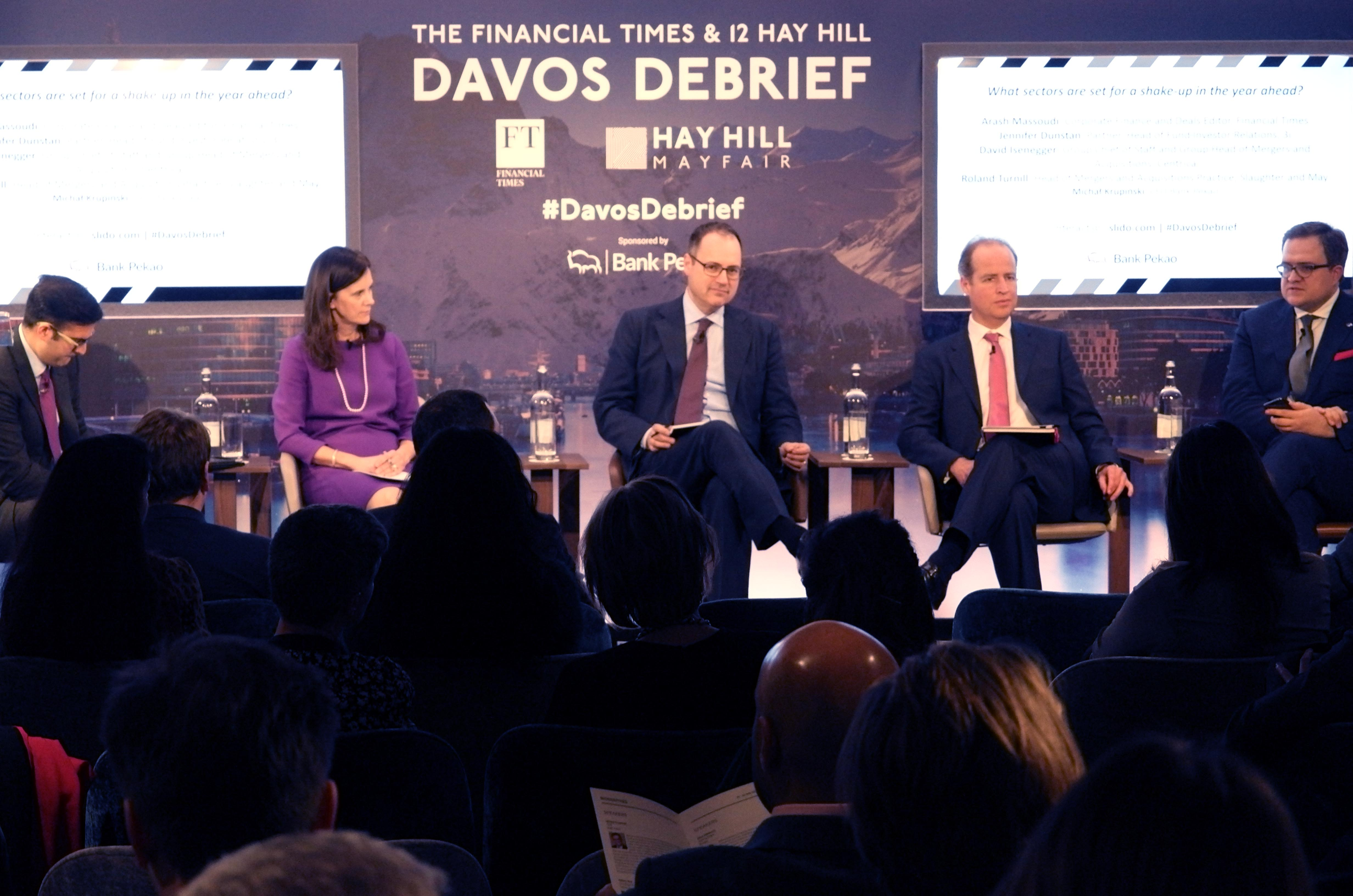 The 12 Hay Hill I Financial Times 2019 Davos Debrief – Session Three