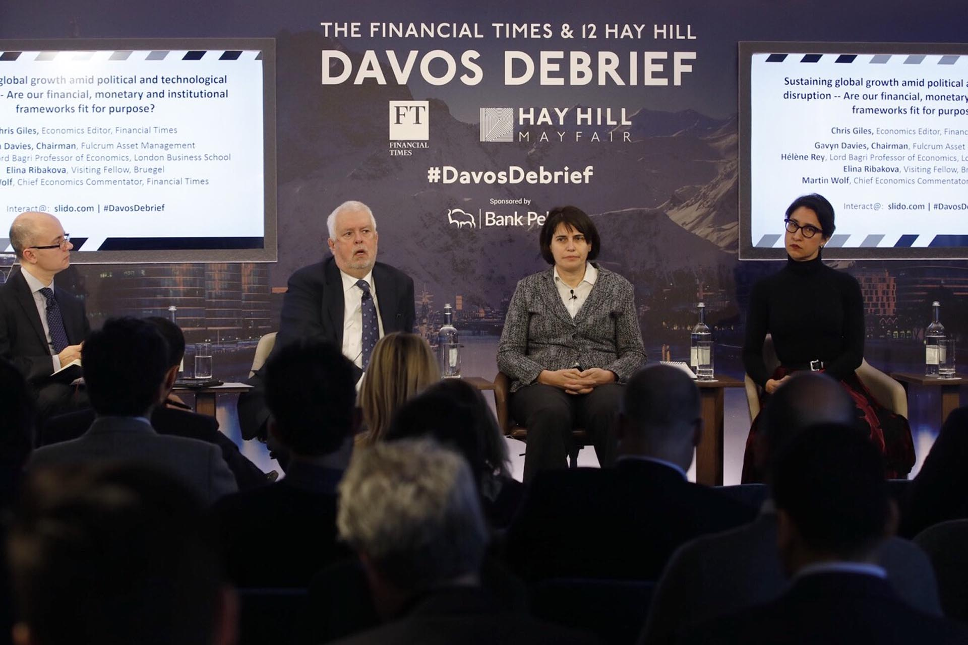 The 12 Hay Hill I Financial Times 2019 Davos Debrief – Session One